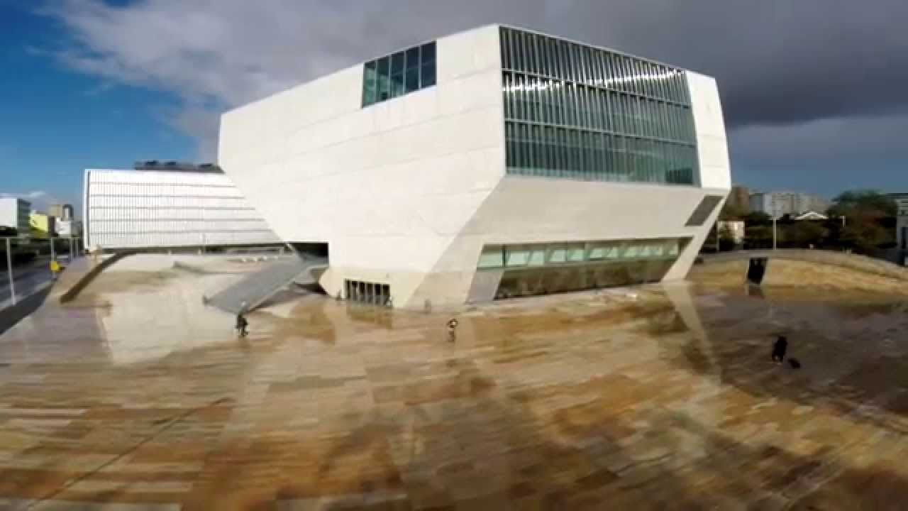Casa da m sica drone hexacopter footage youtube for Piscitelli casa de musica