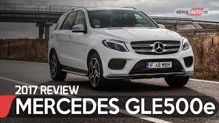 MERCEDES-BENZ GLE 500 e 4MATIC 2017 | TEST DRIVE eblogAUTO