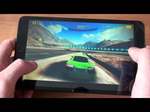 Alcatel OneTouch Pop 8 Asphalt 8 GamePlay