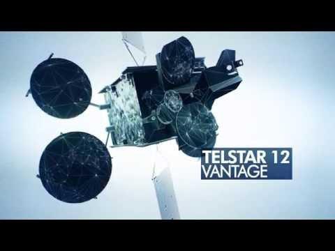 Telstar 12 Vantage satellite