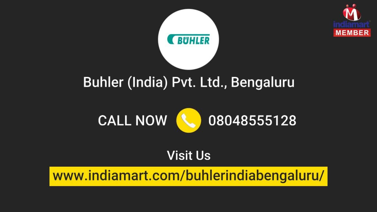 Portable and Commercial Coffee Roaster by Buhler (india) Pvt  Ltd ,  Bengaluru