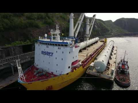 Happy Sky Transports 30,000 Freight Tons Petrochemical Equipment In One Voyage