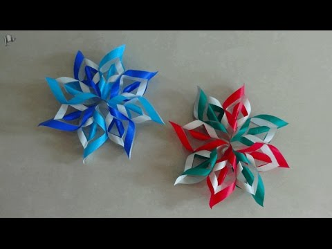 origami christmas ornament decoration youtube. Black Bedroom Furniture Sets. Home Design Ideas