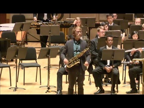 Phil Pierick - Concerto for Alto Saxophone & Wind Ensemble (Frank Ticheli)