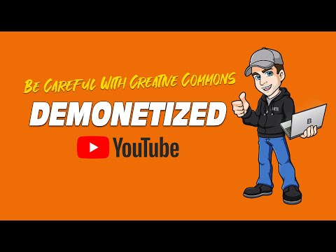 #FAIL | Make Money On YouTube Without Making Videos (Creative Commons Problem)
