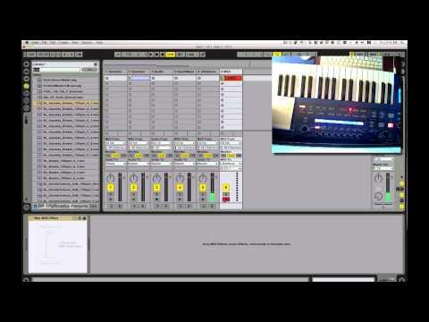 Ultranova + Ableton live MIDI NRPN problem (with surprise ending)