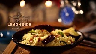 how to make turmeric lemon rice    on a rainy day
