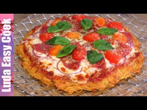 Пицца на картофельной основе в мультиварке