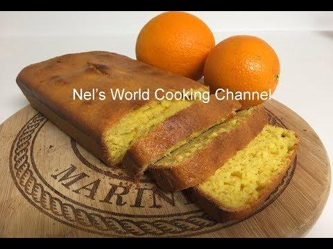 Super Easy Orange Cake - Simple Orange Loaf Cake Recipe | Orange Pound Cake |