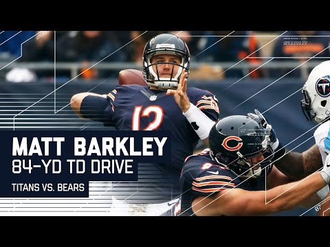 Matt Barkley Leads the Bears Down the Field for an 84-Yard TD Drive! | Titans vs. Bears | NFL