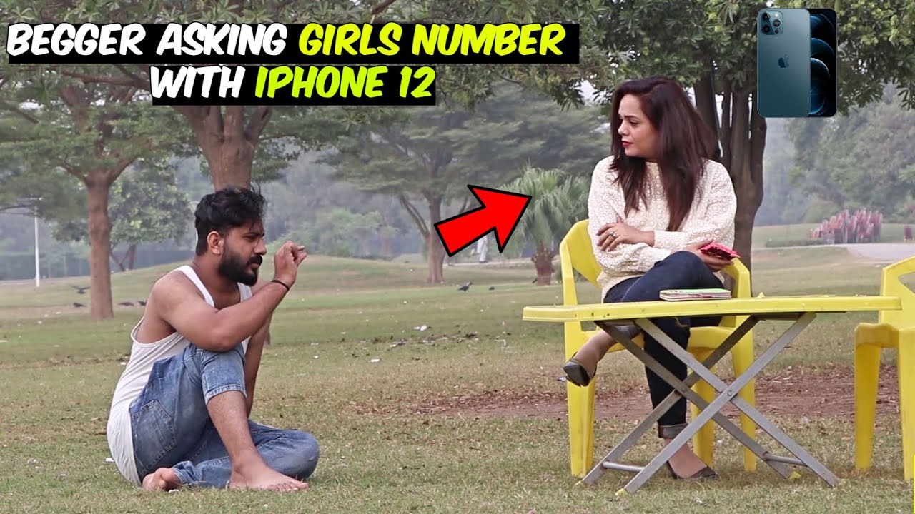 Beggar Asking Girls Number with iPhone 12   LahoriFied