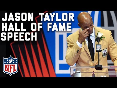 Jason Taylor's Hall of Fame Speech | 2017 Pro Football Hall of Fame | NFL