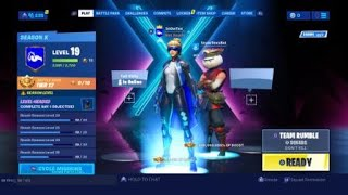 Fortnite EVERY UNRELEASED SKINS AND EMOTES FROM SEASON X(Windmill Floss, Facet, Bronto and more)
