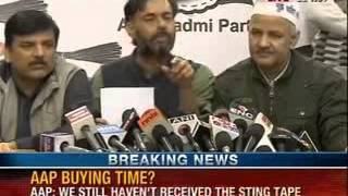 Aam Aadmi Party latest news: Want to examine the sting operation video as proof - News X