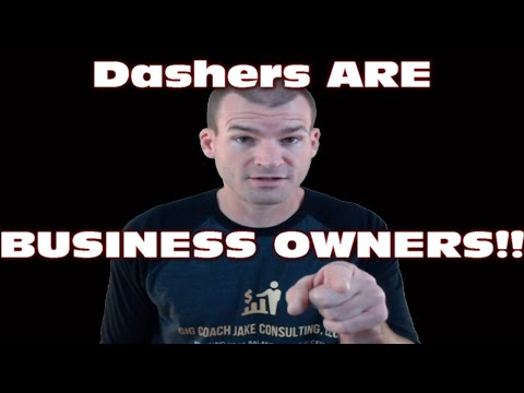 DoorDash Delivery| Are Dashers BUSINESS OWNERS???