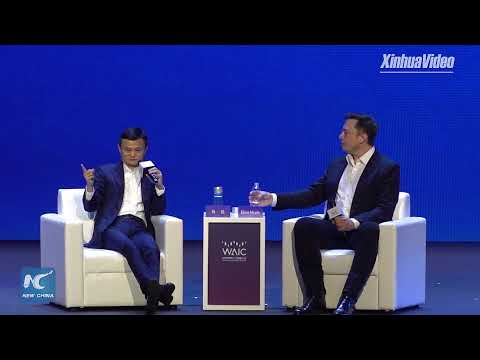 Jack Ma and Elon Musk hold debate in Shanghai