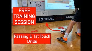 LOADS OF PASSING & 1ST TOUCH SOCCER DRILLS | FREE TRAINING SESSION | Joner Football