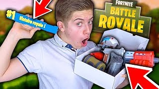 UNBOXING SPECIAL FORTNITE BATTLE ROYALE !!! ARME / OBJET FORTNITE IMPRIMÉ EN 3D ?!
