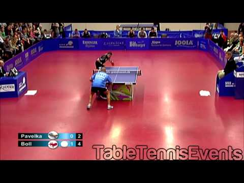 Timo Boll Vs Tomas Pavelka: Match 2 [German League 2012/2013]