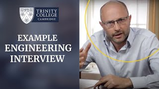 Example Cambridge Engineering Interview