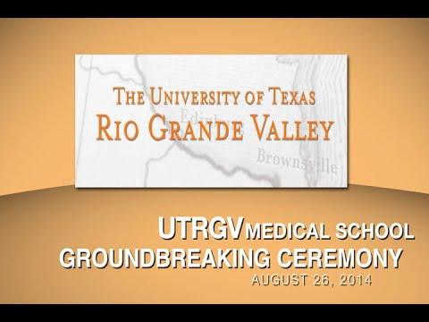 UT-RGV Medical School Groundbreaking Ceremony