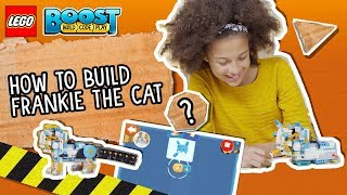 Frankie the Cat - LEGO BOOST - How To Video