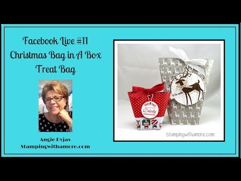 FACEBOOK LIVE #11 CHRISTMAS BOX IN A BAG TREAT BAG