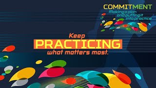 Run the Race: Practice  What Matters Most
