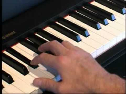 Piano Lessons - How to play Minor Chords Using Black Keys
