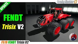 FS19 | FENDT Trisix V2 - review