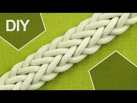 How to Make a 7-Strand Double Braid