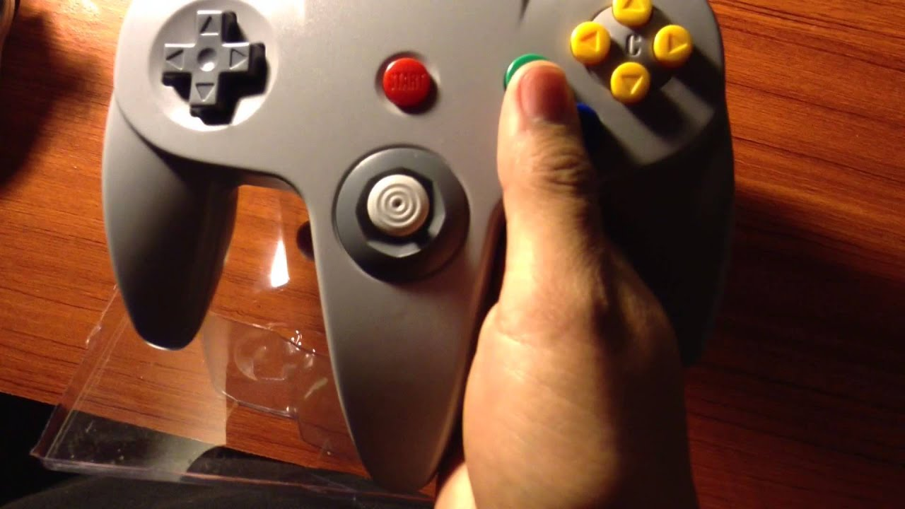 how to make a usb n64 controller