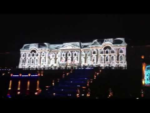 Fountains Closing Ceremony in Peterhof