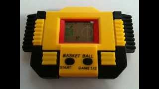 Mini Game Basket Ball Anos 80 90 Raridade Handheld Game Vintage 80s 90s