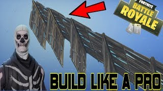 How to Stair/Wall Build on CONSOLE Like A Pro | Fortnite Battle Royale