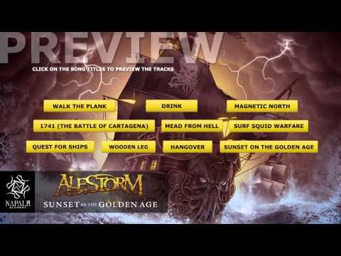 "Alestorm: new album ""Sunset on the Golden Age"""