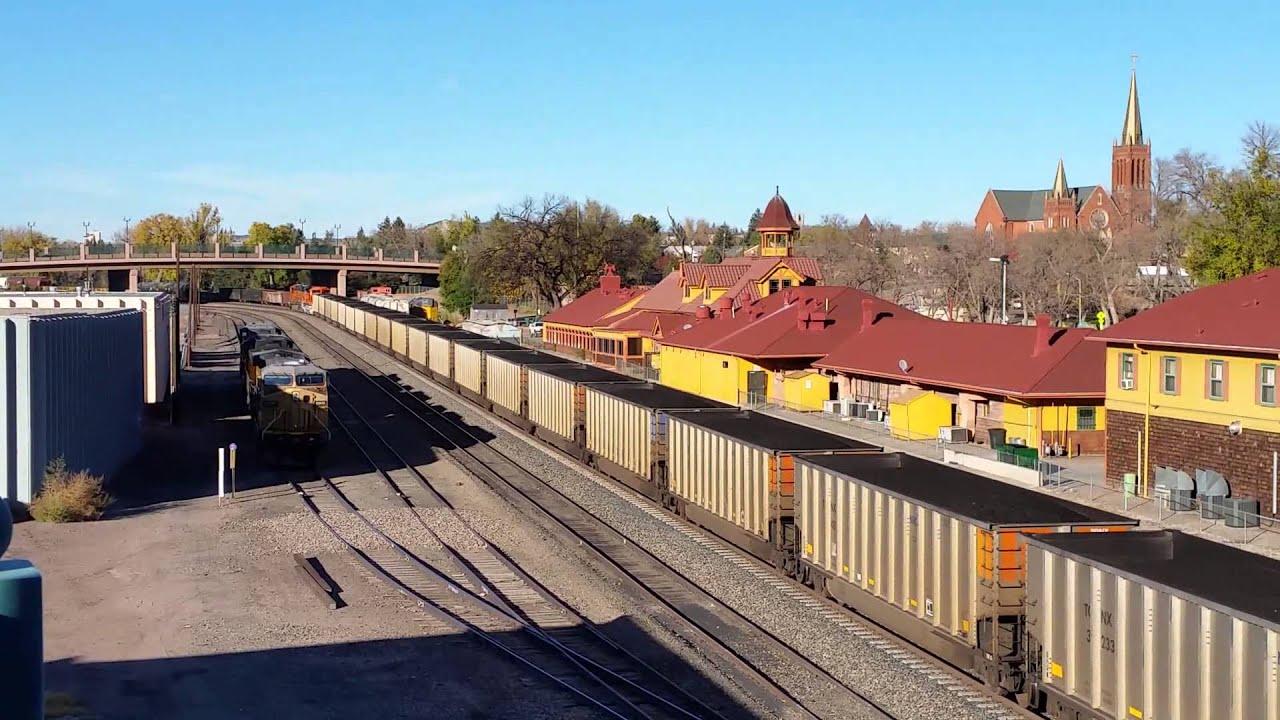 Train to colorado from pa - Bnsf Coal Train Colorado Springs 2