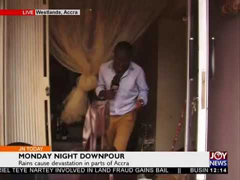 Parts Of Accra flooded - Joy News Today (19-6-18)