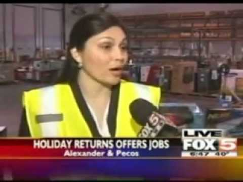 Holiday Returns Offers Jobs