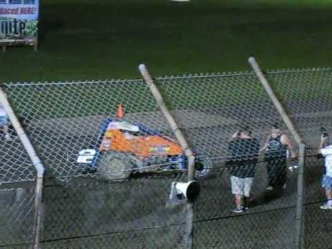 Robert Ballou Wins at Gas City Speedway  8-31-12