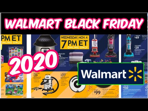 Walmart Black Friday 2020 Ad Electronics Toys More Starts 11 4 Youtube