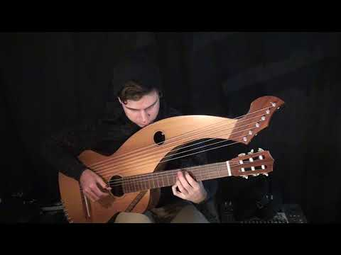 First Noel  Harp Guitar Cover  Jamie Dupuis
