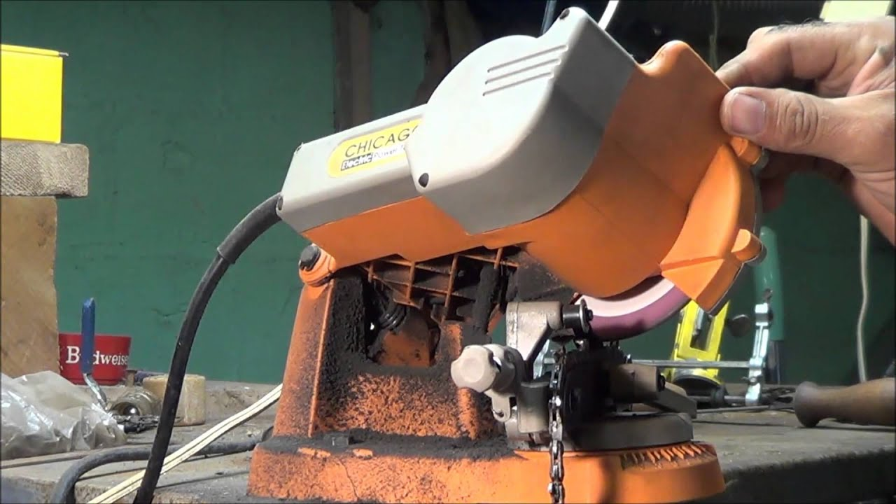 My chainsaw sharpener youtube my chainsaw sharpener greentooth Images