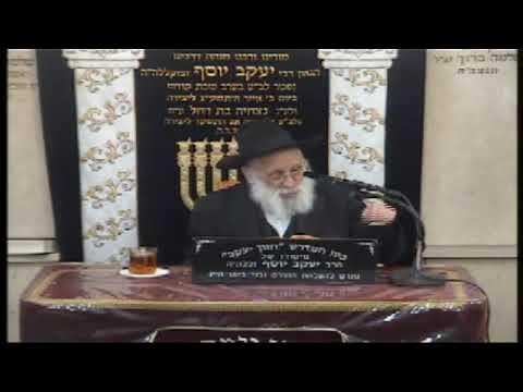 הרב אברהם יונה שליט''א ליל הסדר התשע''ט