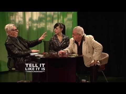 The Amazing Kreskin: TELL IT LIKE IT IS The Vinny and Mariana Show HD