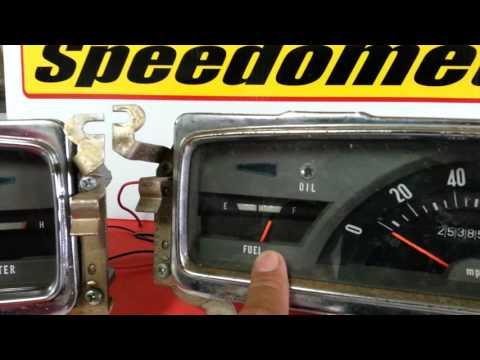 Instrument Cluster Bench Test - 1972 Datsun 521