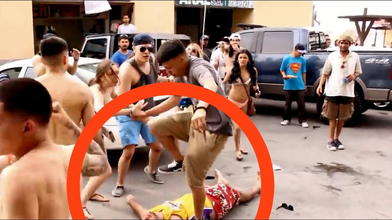 THAI MEN ATTACK DEMON WALKING STREET PATTAYA 2018 THEY'RE SICK OF THOSE BEAST TOO