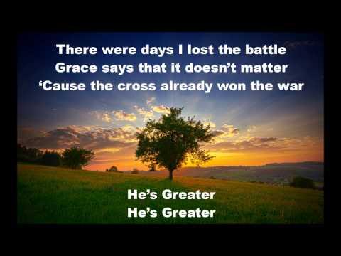 Greater - Mercy Me with Lyrics
