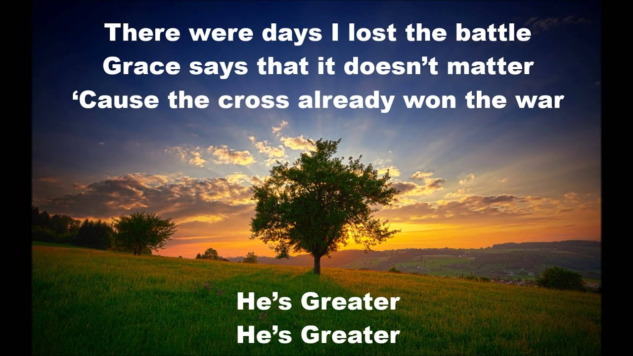 Greater - Mercy Me wit...