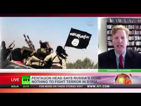 US fighting ISIS alone, Russia doing 'virtually zero' in Syria - US Secretary of Defense